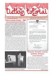 Lietuvos totorių orientas - VšĮ Tautinių bendrijų namai