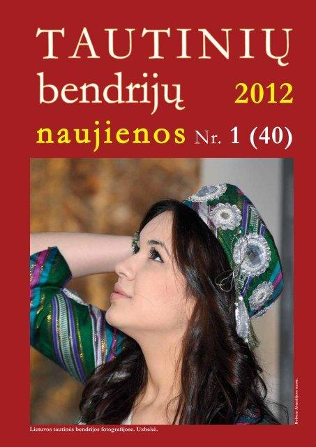 (40) 2012 m. - VšĮ Tautinių bendrijų namai
