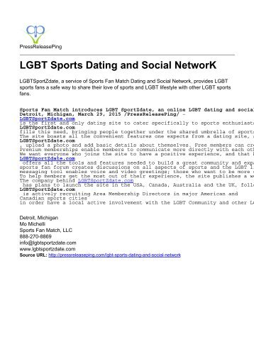LGBT Sports Dating and Social NetworK