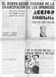 1940, diciembre. - Federacion Libertaria Argentina