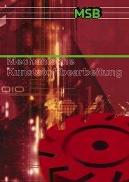 MSB Leistungsspektrum in der mechanischen Kunststoffbearbeitung