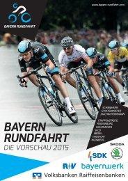 BAYERN RUNDFAHRT Die Vorschau 2015