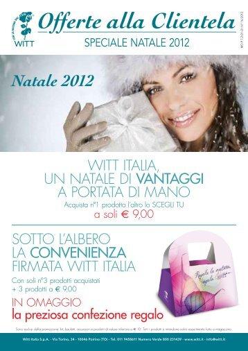 Offerte alla Clientela - Witt Italia