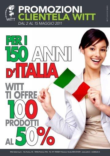 WITT TI OFFRE - Witt Italia