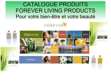 Catalogue produits forever living products - aloe vera Maroc