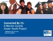 A Marion County Foster Youth Project - Indiana Pathways to College ...