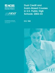 Dual Credit and Exam-Based Courses in U.S. Public High Schools ...