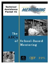 ABCs of School-Based Mentoring - Indiana Youth Institute