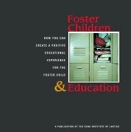 Foster Children &Education - Vera Institute of Justice