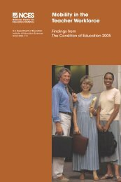 Mobility in the Teacher Workforce - ERIC - U.S. Department of ...