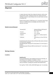 PNOZmulti Configurator V8.1.1 - Pilz GmbH & Co.