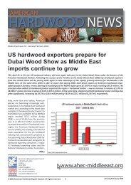 2009 - American Hardwood Export Council