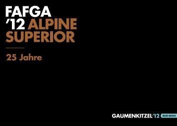 Folder zur Gaumenkitzel/fafga 2012