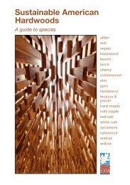 Sustainable American Hardwoods - American Hardwood Export ...