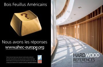 Voir en ligne - American Hardwood Export Council