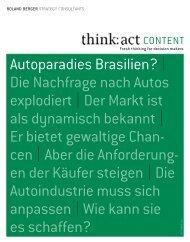 autoparadies Brasilien? | Die nachfrage nach autos ... - Roland Berger