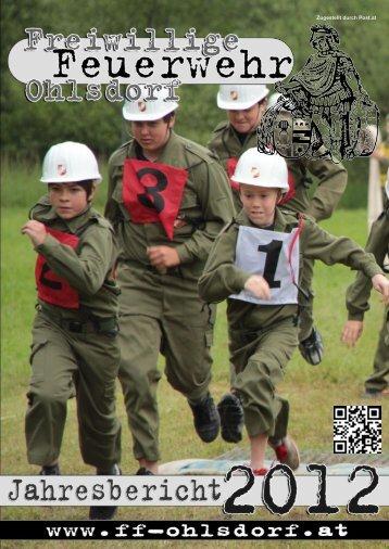 Jahresbericht 2012 - Freiwillige Feuerwehr Ohlsdorf