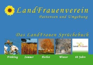 Sprüchebuch als PDF downloaden - Landfrauen Pattensen