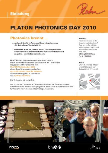PLATON PHOTONICS DAY 2010
