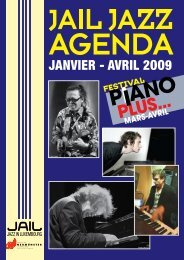 JANVIER - AVRIL 2OO9 - Jazz in Luxembourg