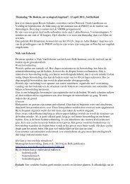 """Themadag """"De Bodem, uw ecologisch kapitaal"""", 12 april 2011 ..."""