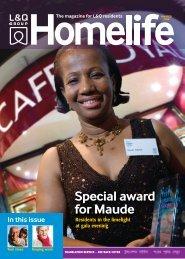 Special award for Maude - London & Quadrant Group