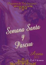 Semana Santa Arona 2013 [pdf 8,08 MB]