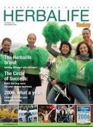 The Herbalife brand: The Circle of Success: 2006 ... - Daniela Szasz