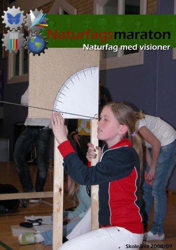 Brochure vedrørende Naturfagsmaraton