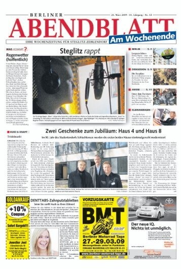 Berliner Abendblatt - Tuned-Jugendprojekt