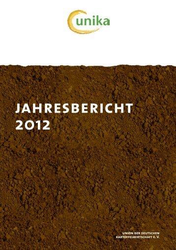 jahresbericht 2012 - UNIKA - Union der Deutschen ...