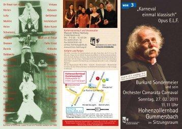 Flyer zum Herunterladen - Schloss Homburg