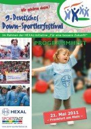 Programm - Down Sportlerfestival