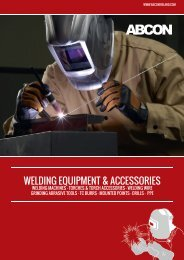 ABCON Welding Equipment and Accessories Catalogue 2015