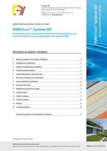 PURA Vision Système KD PURAVision® Système KD - AQUA ...
