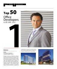 Top 50 Office Developers - Von der Heyden Group