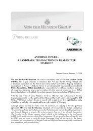 ATsold-press release-final-eng (.pdf) - Von der Heyden Group