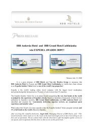 IBB-vdHG Press Release Expedia Award-Andersia,GHL- English-15 ...