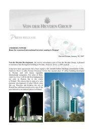 ANDERSIA TOWER - Von der Heyden Group