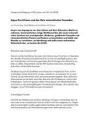 AQUA PURAVision® und der Reiz mineralischer Fassaden.