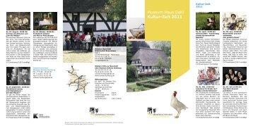 RZ Flyer HD 2011_frei2 .indd - Schloss Homburg