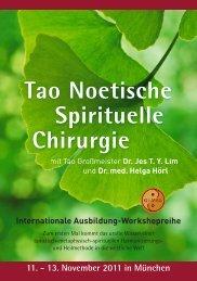 11. - 13. November 2011 in München - Qi-Mag Institute