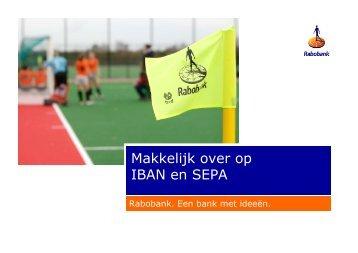 SEPA presentatie V&S nieuw Marcel - Rabobank