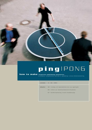 look and feel - ping PONG