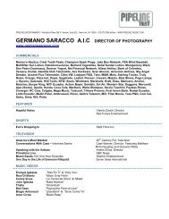 germano saracco aic director of photography - Pipeline Talent