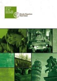 Download the DIRPOLIS Institute Brochure