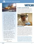 Newsletter Fall 2009 - Vatican Observatory - Page 2