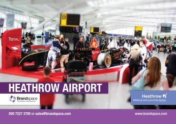 HEATHROW AIRPORT - Brandspace