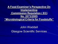Developments in Food Microbiology