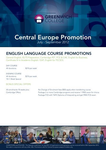 Central Europe Promotion